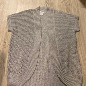 Oh Baby by Motherhood Gray Cardigan Sized L